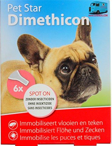 Pet Star Floh- u. Zeckenschutz Tropfen 6 St. 6 Pipetten je 1,5 ml Hund