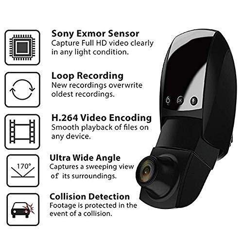 HUIGE HD 1080P Dashboard Kamera-Recorder Car Dash Cam mit Super Night Vision, G-Sensor, WDR, Loop-Aufnahme -