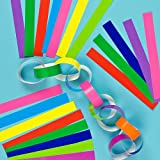 Coloured Paper Chains for Children for Party Decoration (Pack of 300)