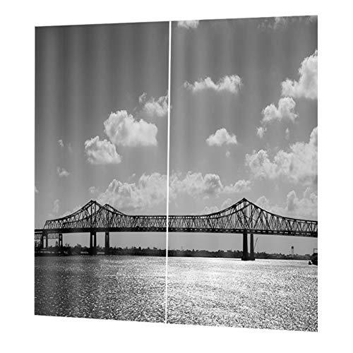 Prima05Sally Top Blackout Vorhang Panel Fenster Screening Fenster Vorhänge 170 * 200 cm Elegante Wohnzimmer Schlafzimmer Dekorative Vorhänge DZ3021 -