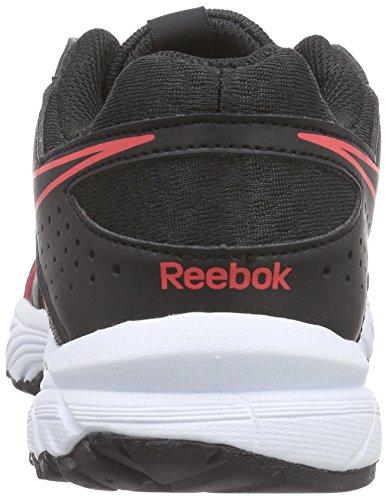 Reebok Triplehall 4.0, Chaussures de Running Entrainement Femme Noir (black/gravel/neon Cherry/white)