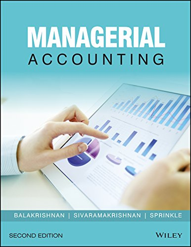 Managerial Accounting, 2ed