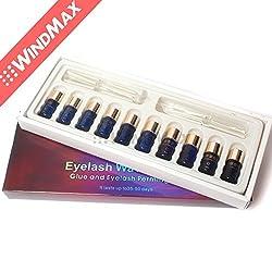US Seller USPS Shipping! Boxed Perm Eyelash Curling Perming Curler Kit Eyelashes Wave Lotion Eye Rod Glue Set