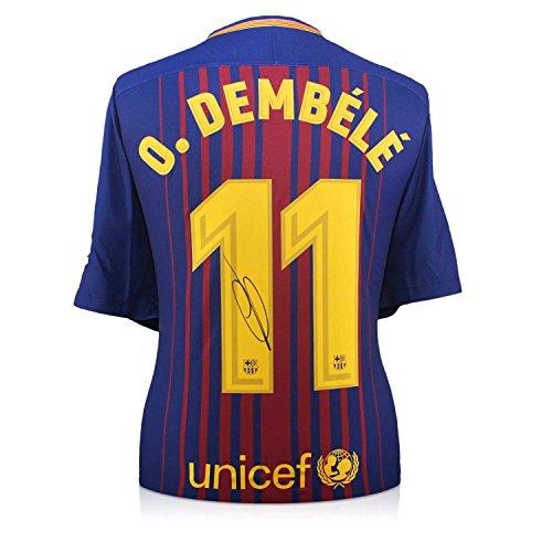 Camiseta fútbol firmada - Fc Barcelona - Dembele