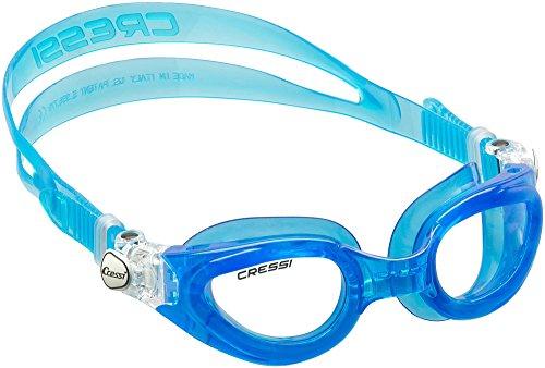 Cressi Right Small Schwimmbrille mit Antibeschlag und 100% UV Schutz + Tasche