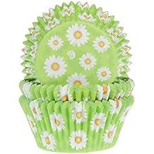 """Muffinförmchen, mit Aufdruck """"Gänseblümchen"""", 50 Stück - Papierbackförmchen"""