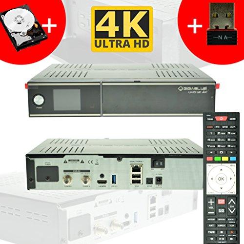GigaBlue Sat-Receiver mit Festplatte Ultra UHD UE 4K  im Test