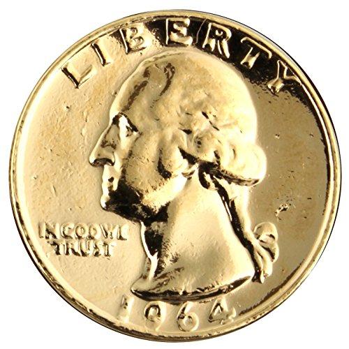 Quarter USD vergoldete Münze 1988 mit Ihrer individuellen Namensgravur Automaten-dollar