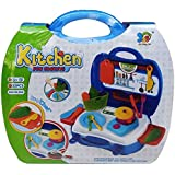 Chef Bring Along NEW Kitchen Fun Cooking Suitcase Set Pretend & Play Toy For Kids - 22 Pieces