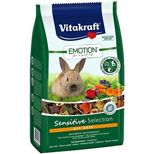 Vitakraft Emotion Sensitive All Ages, Zwergkaninchen - 600g