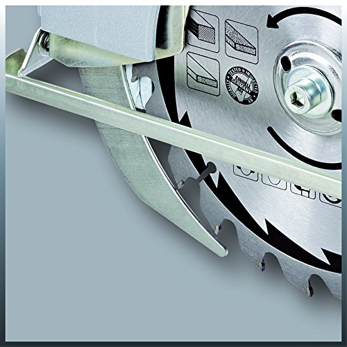 Einhell Handkreissäge TC-CS 1400 (1400 W, max. 66 mm, Sägeblatt Ø 190, 24 Zähne, Softstart, Parallelanschlag) - 5