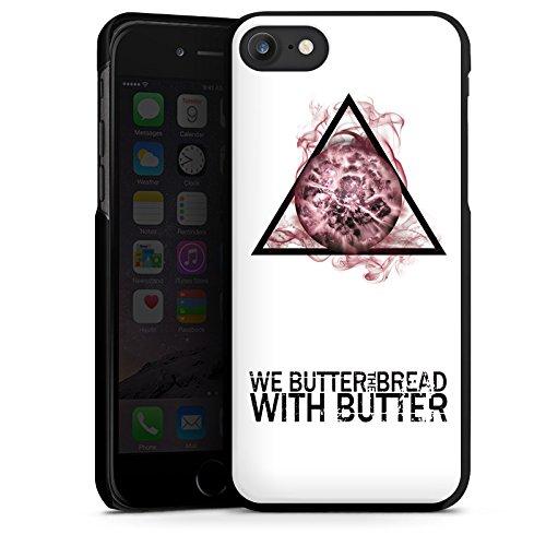 Apple iPhone X Silikon Hülle Case Schutzhülle We Butter The Bread With Butter Fanartikel Merchandise Apocalypse Hard Case schwarz