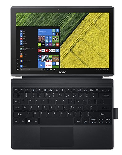 """Acer Switch SW312-31-P2RD 1.10GHz N4200 Intel Pentium 12.2"""" 1920 x 1200Pixel Touch screen Nero Ibrido (2 in 1)"""