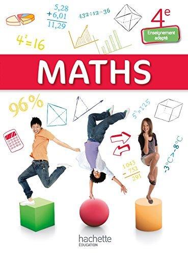 Mathématiques 4e Enseignement adapté - Livre élève consommable - Ed. 2015 by Jean-Louis Berducou (2015-04-29)