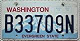 USA Nummernschild WASHINGTON ~ US Kennzeichen plaque d'immatriculation ~ Blechschild