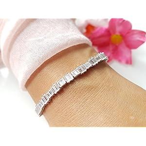 Einzelstück: Armkette Zirkonia Silber 925
