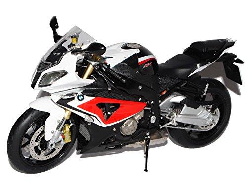 Preisvergleich Produktbild BMW S1000RR Weiss Rot Ab 2009 1/10 Schuco Modell Motorrad