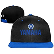 Hittings Yamaha Logo Snapback Adjustable Hip Hop Baseball Cap/Hat For Unisex Royal Blue