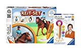 Ravensburger ® tiptoi Spiele Set - 00700 Stift mit Player und 00741 tiptoi Bauernhof und Tiere - Pferde und Ponys Freizeit Reitset