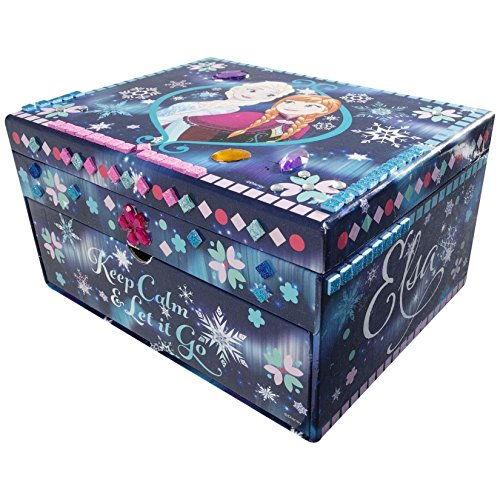 Limited Edition Frozen Sparkling Jewelry Box - Design your own Jewelry box with Sparkling mosaics and gem stones - Perfect present