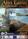 Comer See - Wanderkarte - Alto Lario Occidentale