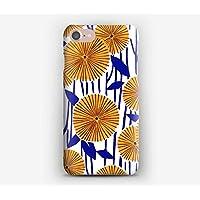 Coque iPhone 7, 7+, 6S, 6, 6S+, 6+, 5C, 5, 5S, 5SE, 4S, 4 Liberty Fleur du soleil O