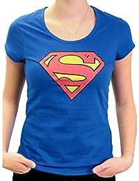 Tshirt Superman femme DC Comics - Symbol Logo Classic