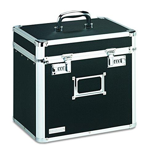 Vaultz Locking Datei Sicherheit Box Größe, Buchstaben, 34,3x 26,7cm, schwarz (vz01165)