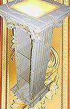 Jas-Min Bar Vitrine CD REGALE Amphore Regal Glasregal Säulenregal Beleuchtet Antike Art