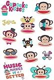 Unbekannt 13 tlg. Set Haut Tattoo  Affe Julius  - Paul Frank Sunich - Tattoos für Kinder Affen Tiere Comic Jungen / Mädchen Hauttattoo Kindertattoos