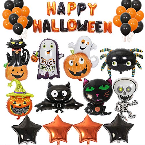 Shuangklei Halloween-Folie Ballons Halloween Dekorationen Bälle Party Klassische Spielzeug Halloween Ballons Event Party Supplies