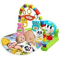 Multifonction Bébé Tapis de Jeu Toddler Gym Jouet Plancher Couverture Tapis Avec Musique Piano Pédale Fitness Cadre Bébé Jouet