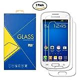 [2 Pack] Film Verre Trempé Samsung Galaxy Trend Lite / Fresh ( GT-S7390 / 7390 ) -...