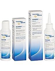 Thymuskin Classic Set (Shampoo + Serum) - Mittel gegen Haarausfall für Frauen & Männer - aktiviert neuen Haarwuchs - durch klinische Studien bestätigt - keine Nebenwirkungen - 200ml