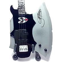 Réplica de guitarra en miniatura-minirregalo para los amantes de la música., Kiss