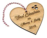 Best The Parents - First Christmas as Mummy & Daddy Tree Bauble Review