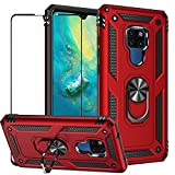 BTShare For Huawei Mate 20 X Case with Screen Protector,