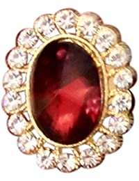 Traditional & Ethnic Gold Plated Finger Ring For Women By Haryana Craft