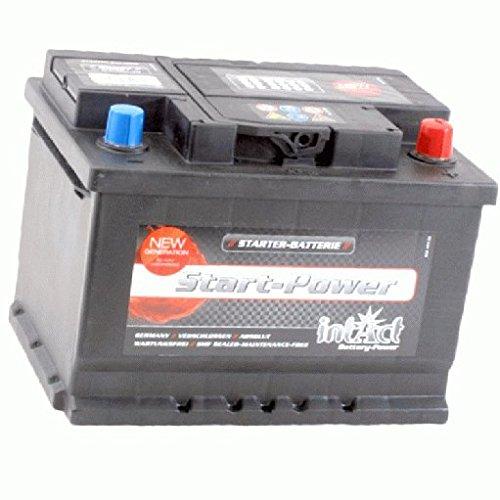 Preisvergleich Produktbild ProfiStart 56077 GUG Batterie 12 V 60 AH (c20) 540