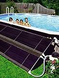 Freizeitwelt-Online Solarkollektor Sonnen Heizung Pool Eco Solar 6,00 x 0,76 m Poolheizung Schwimmbadheizung Solar Sonnen Heizung Stahlwandpool Erwärmen durch Kollektor