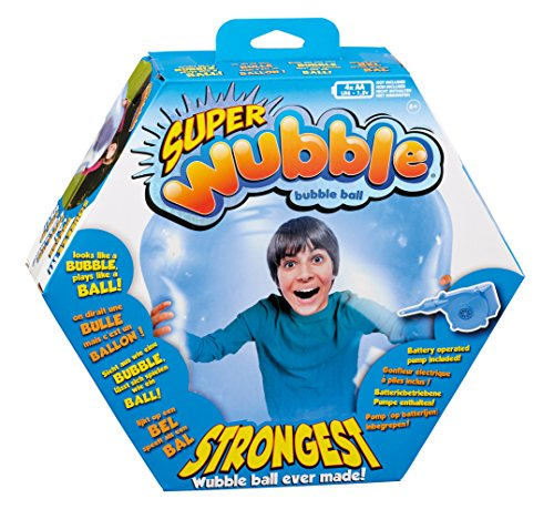 Wubble NS20169.4300 Super Bubble Ball, blau
