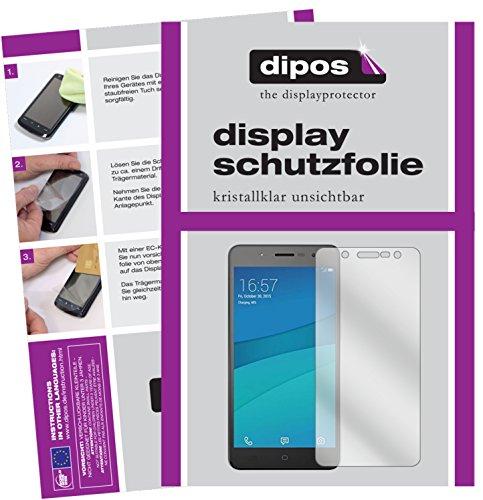 dipos I 2X Schutzfolie klar passend für Hisense L695 Folie Bildschirmschutzfolie