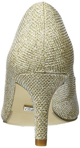 c728545bee00 Buffalo Damen C404a1 P1855d Glitter Pumps Gold GOLD 01 -friseur ...