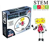 YAHAMA Metall Roboter Stem Spielzeug Metall Bausatz Roboter für Kinder Metallbaukasten Baukasten Kinder ab 7