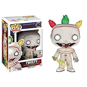 Funko POP TV American Horror historia Temporada 4 Twisty EL PAYASO Figura De Vinilo 2015 Verano Convencin Exclusivo