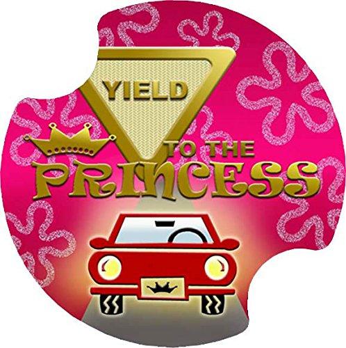 Thirstystone Ergiebigkeit to die Prinzessin Auto Cup Holder Untersetzer, 2er Pack Carster Car Coaster