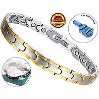 BisLinks® Magnetisch Titanium Elegant Armband Für Männer & Frau Carpal Tunnel Linderung Arthritis Schmerzen Therapy... preisvergleich bei billige-tabletten.eu