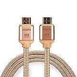 1.8m HDMI Cavo Lead V2.0 4K 3D Line Audio ad alta velocità 1080p per Ethernet HDTV