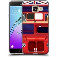 Head Case Designs Bus De Londres J'aime Londres Étui Coque en Gel molle pour Samsung Galaxy A3 (2016)