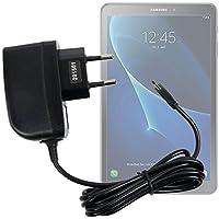 DURAGADGET Cargador (2 Amperios) para Tablet Samsung Galaxy Tab A 2016 SM-T580/T585 - con Conexión Micro USB Y Enchufe Europeo De Pared - Certificado por La CE
